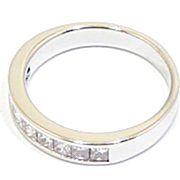 anillo alianza oro blanco y diamantes princesa A3380 01