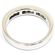 anillo alianza oro blanco y diamantes princesa A3380 02
