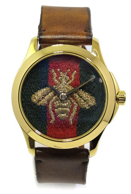 Reloj GUCCI de acero chapado en oro YA126451