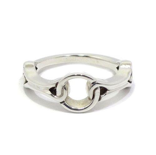 Anillo plata 925 cadenas Navarra