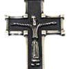 Crucifijo Románico en plata de ley 925