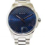 Reloj GUCCI Timeless Grande 40 mm Acero YA126316 esfera azul