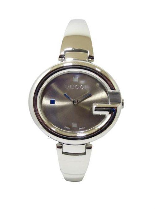 Reloj GUCCI Guccissima Grande 36x32mm Acero YA134302