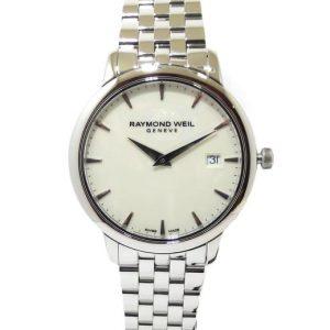 Reloj Raymond Weil Toccata 34mm esfera blanca 5388-ST-40001