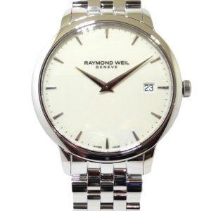 Reloj Raymond Weil Toccata 42mm esfera blanca 5588-ST-40001