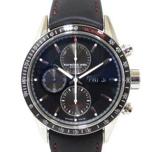 Reloj Raymond Weil Freelancer 43mm Crono Automatico esfera negra 7731-SC1-20621
