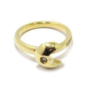 Anillo FIORIANI diamante Luna oro amarillo