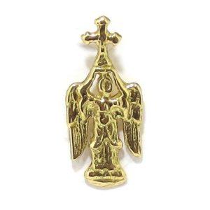 Colgante San Miguel Aralar 26mm oro
