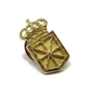Pin Escudo de Navarra Oro