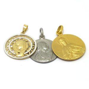 Medallas de oro y plata