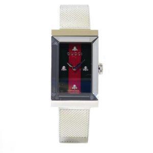 Reloj GUCCI G-Frame nacar verde rojo
