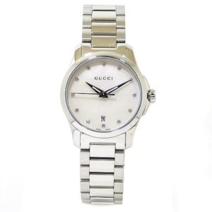 Reloj GUCCI Timeless 27mm acero diamantes
