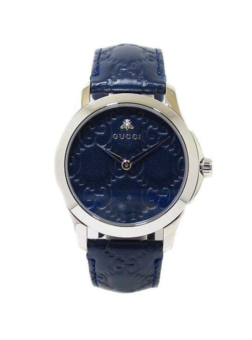 Reloj GUCCI Timeless azul 38mm piel