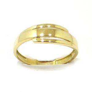 Anillo sencillo oro amarillo A3424