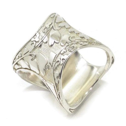 Anillo reversible estado animo plata