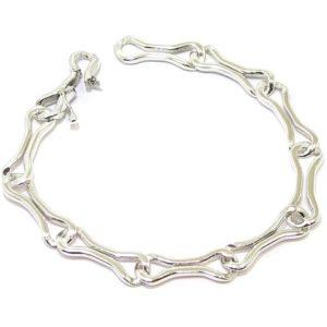 Pulsera cadenas Navarra plata