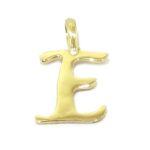 Colgante inicial letra E oro amarillo