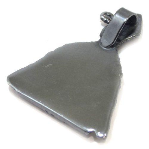 Colgante San Fermin 36mm plata antigua