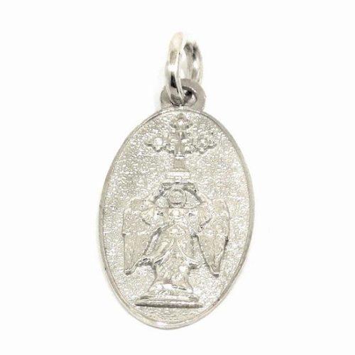 Medalla San Miguel Aralar 22mm plata