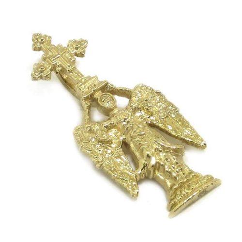 Colgante San Miguel Aralar 27mm oro